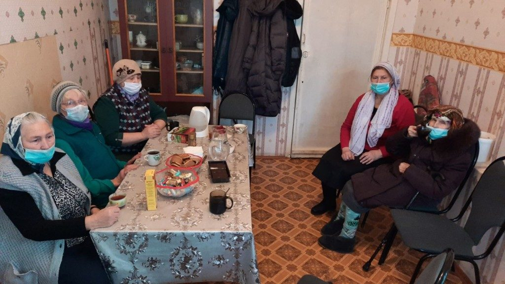 В с/п Успенское Ржевского района совершили чин обедницы.