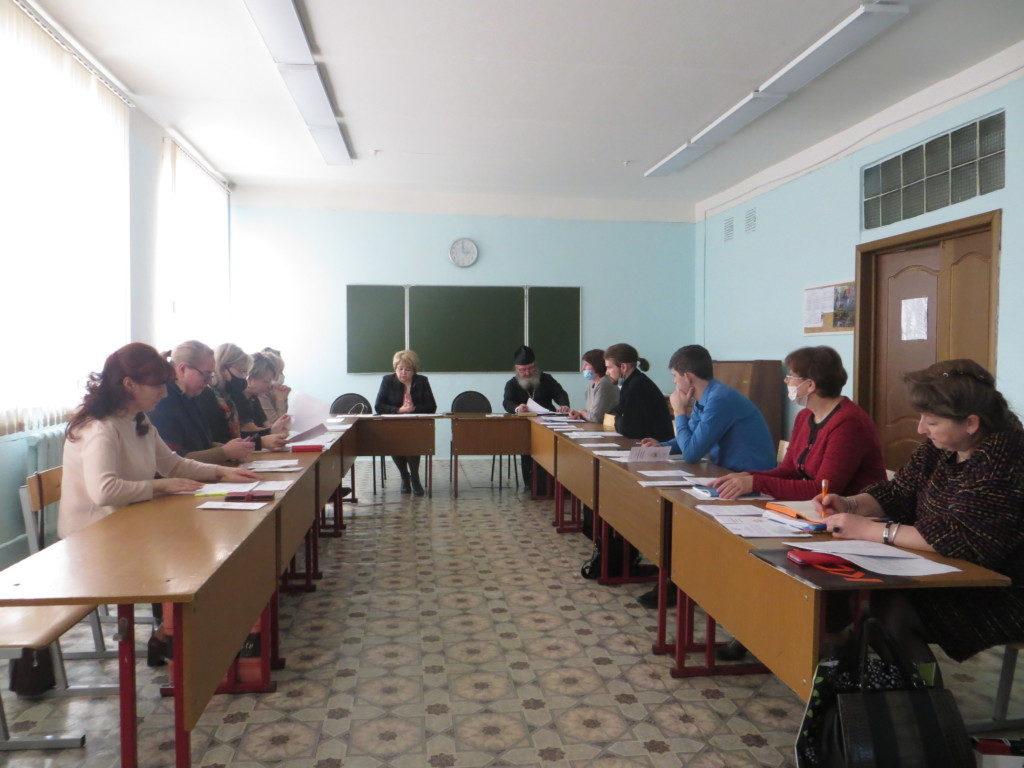 Заседание Координационного совета по духовно-нравственному воспитанию граждан в города Ржева.