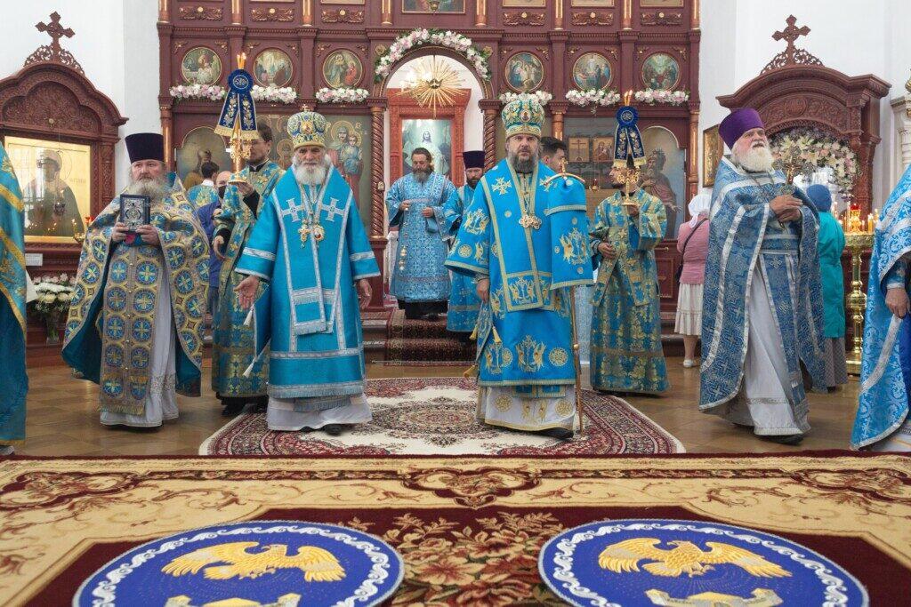 Празднование явления иконы Божией Матери Оковецкая- Ржевская